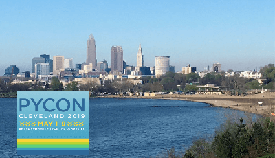 Image of the skyline of Cleveland, OH, where PyCon 2019 was held