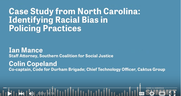 Case Study from North Carolina: Identifying Racial Bias in Policing Practices