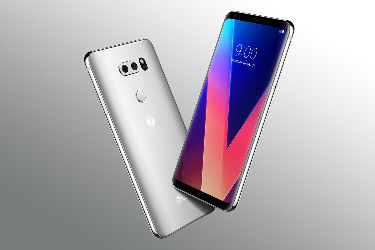 LG Announced a Storage and Memory Update to Its V30 Phone Earlier This Year