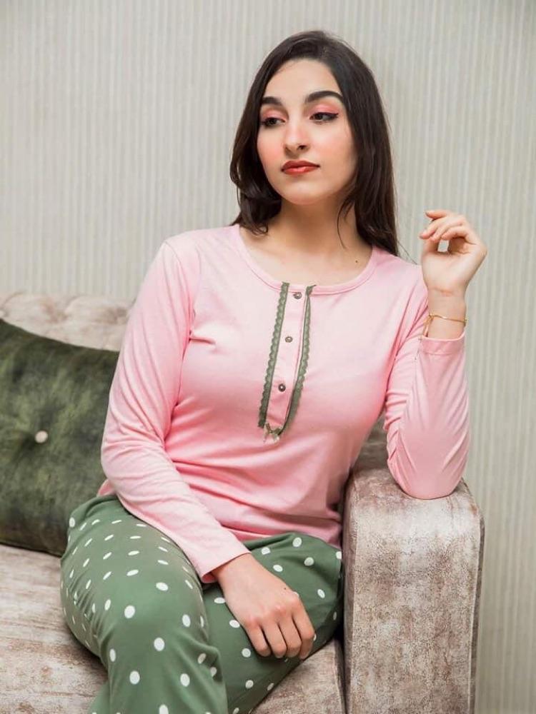 Très beau pyjama deux pièces 100% coton