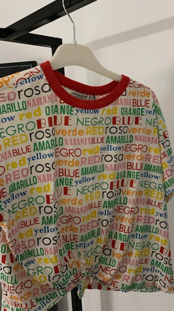 T shirt multicolore
