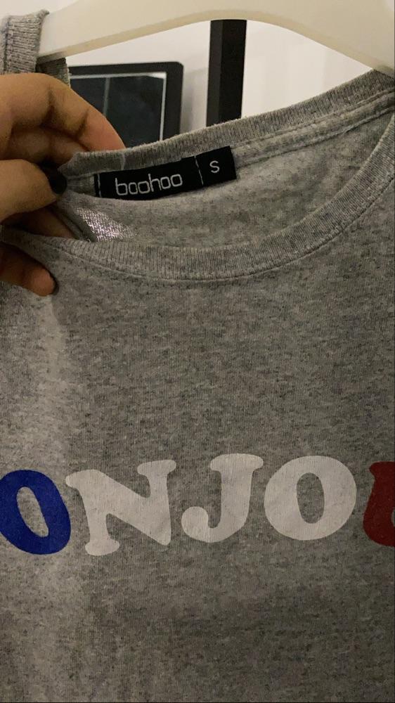 T shirt boohoo
