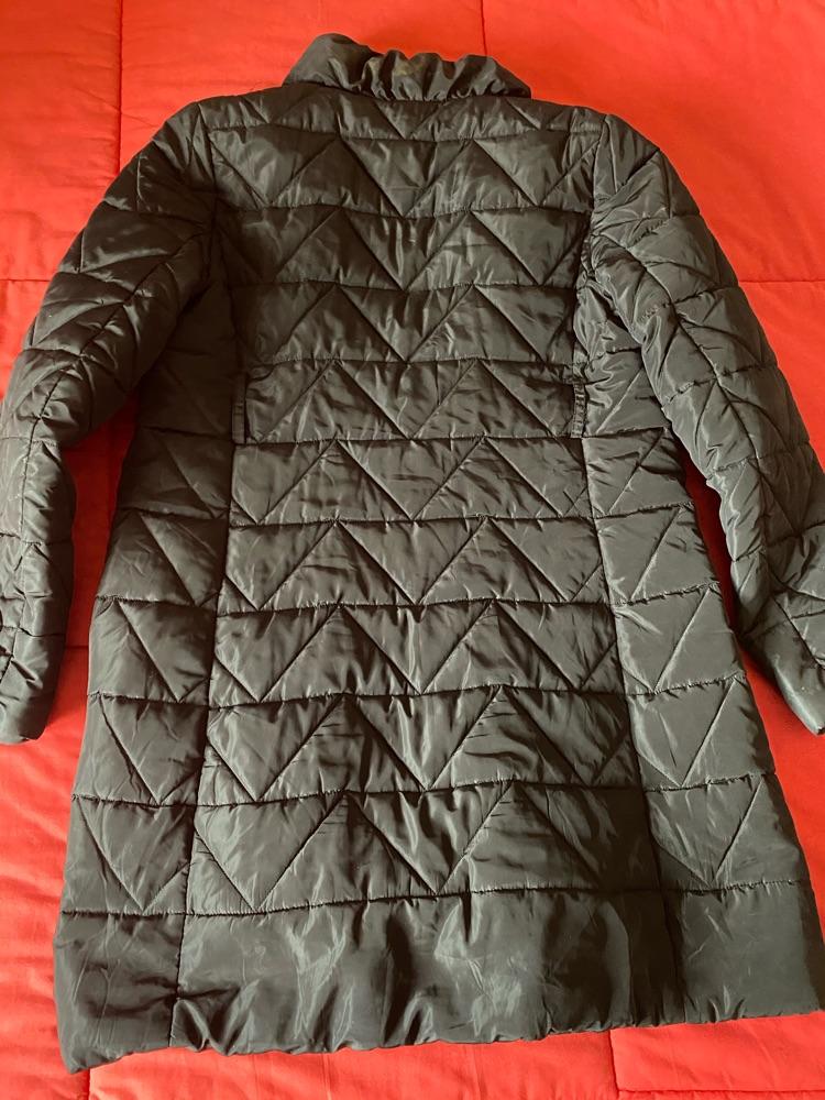 Manteau long noir de la marque Sasio grand taille