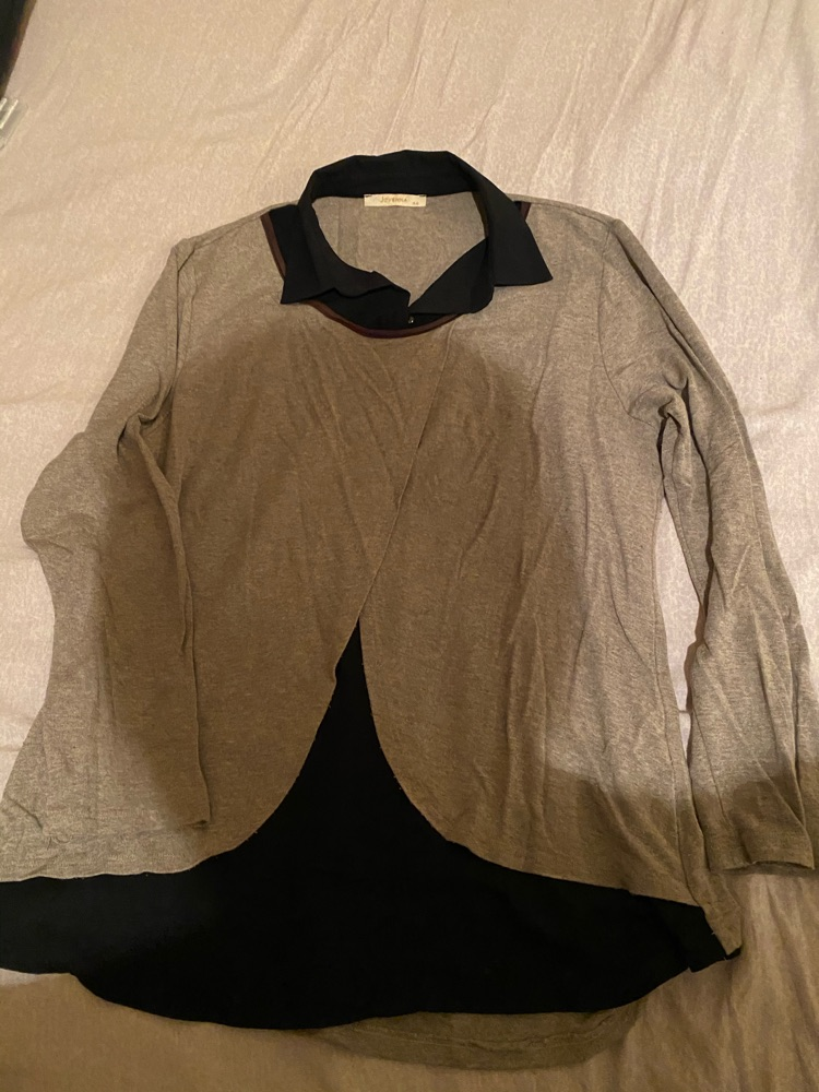 Pull grand taille
