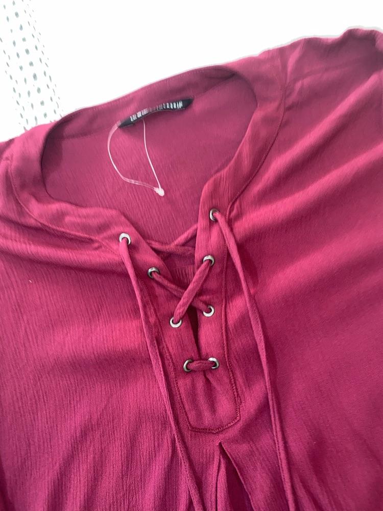 Chemise rouge bordeau taille 40