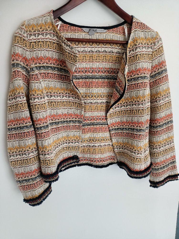 Gilet en tweed zara
