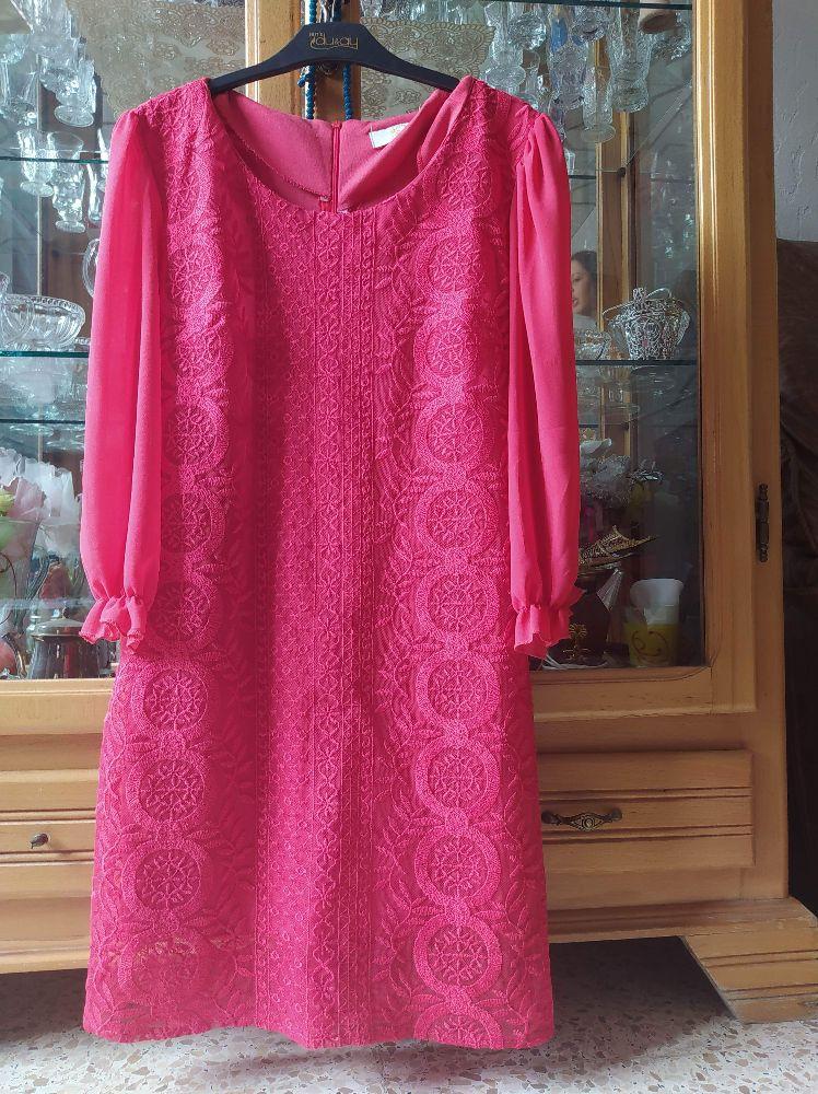 Robe rose en bon état