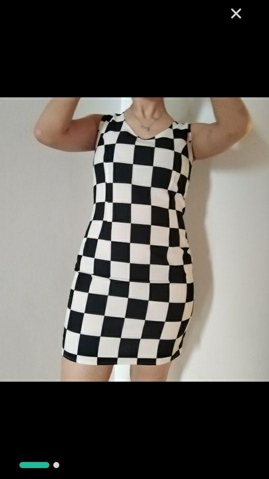 Petite robe en carreaux