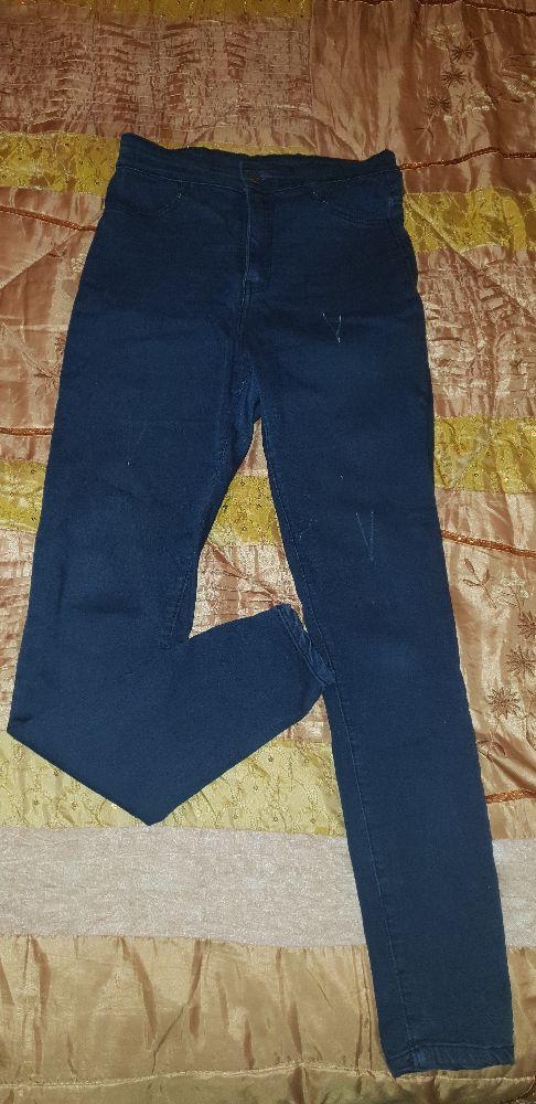 Pantalon bleu roi tres bon état