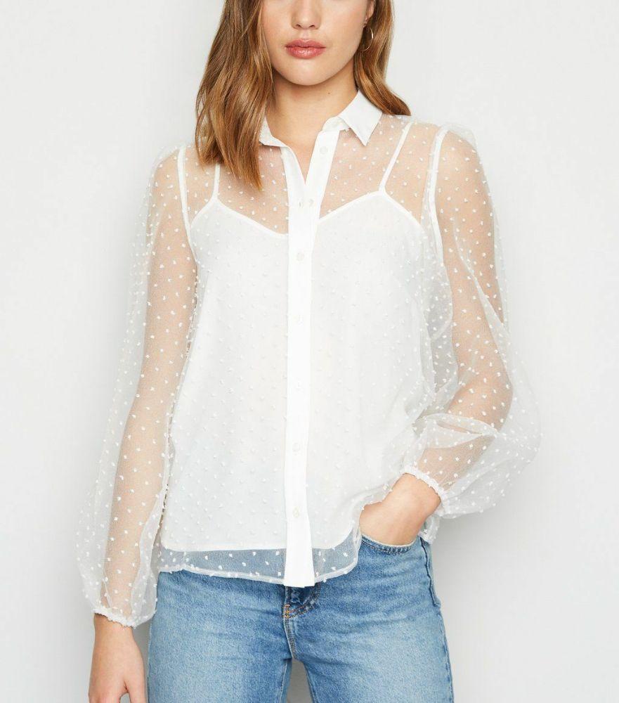 Chemise blanche très chic pour soirée