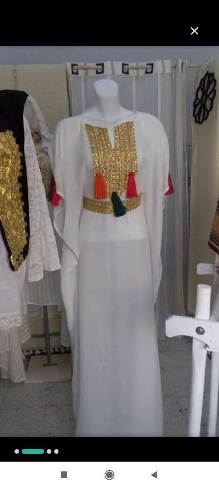 Jebba + fond de robe + pochette