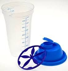 Shaker demi litre tupperware