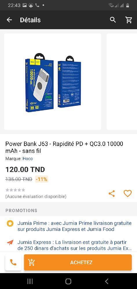 Power bank sans fil