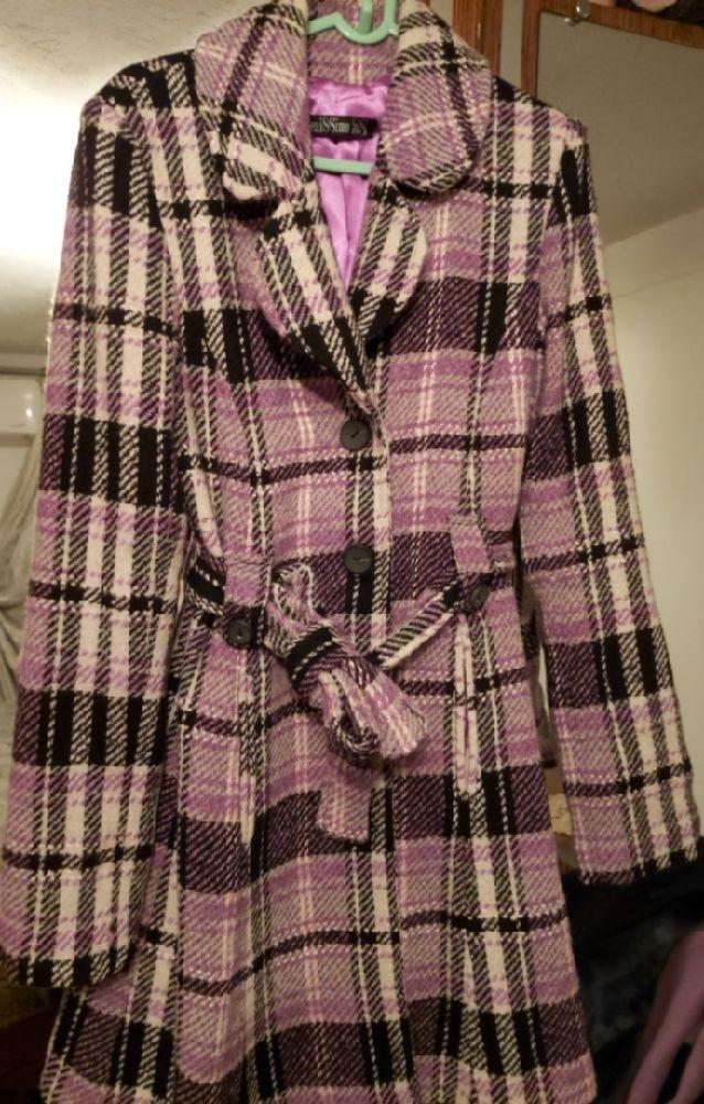 Manteau a carreaux