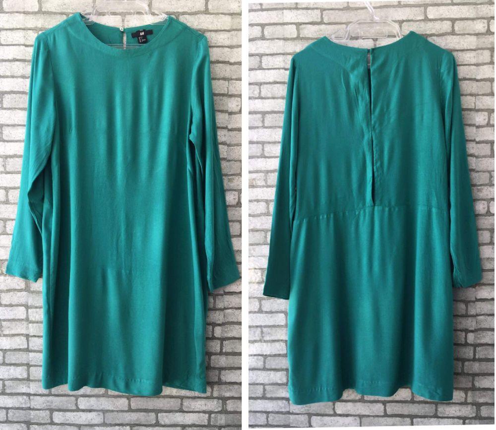 Robe vert d'eau