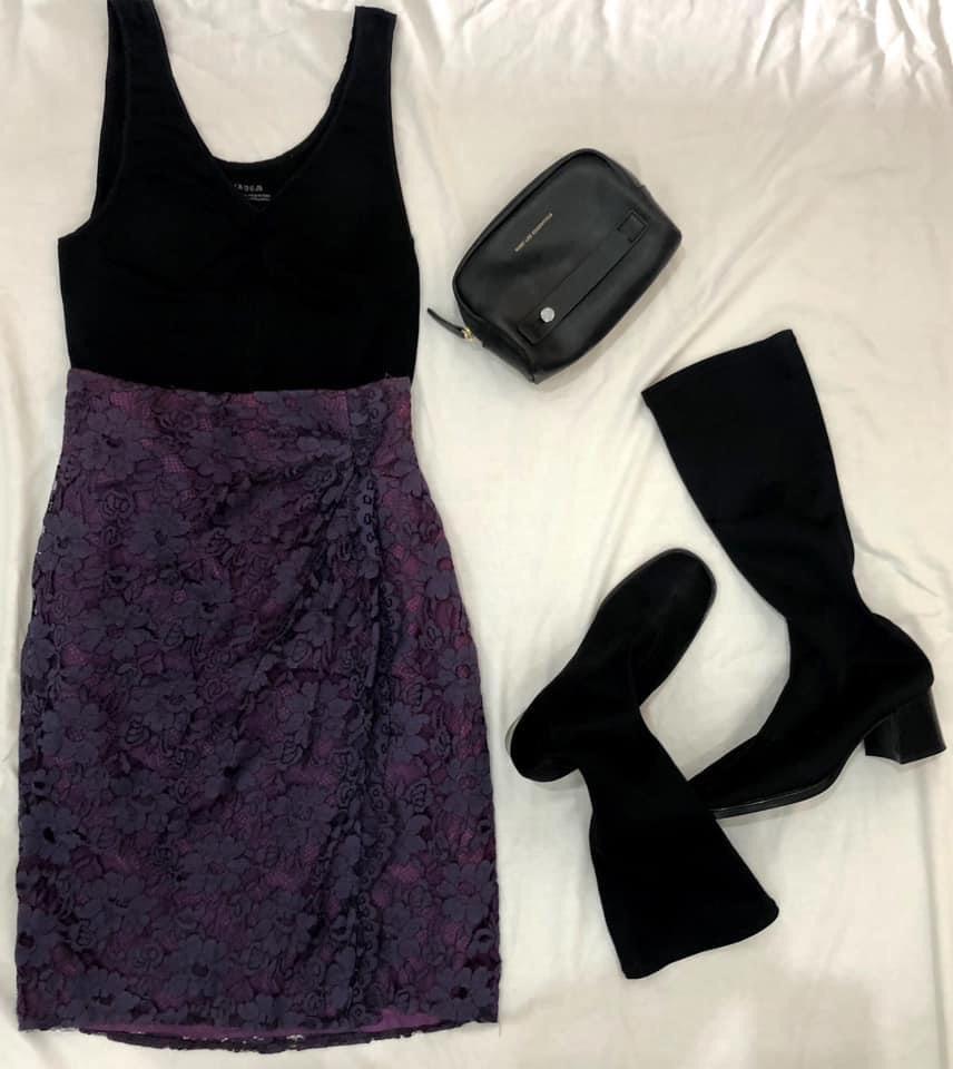 Jupe violet