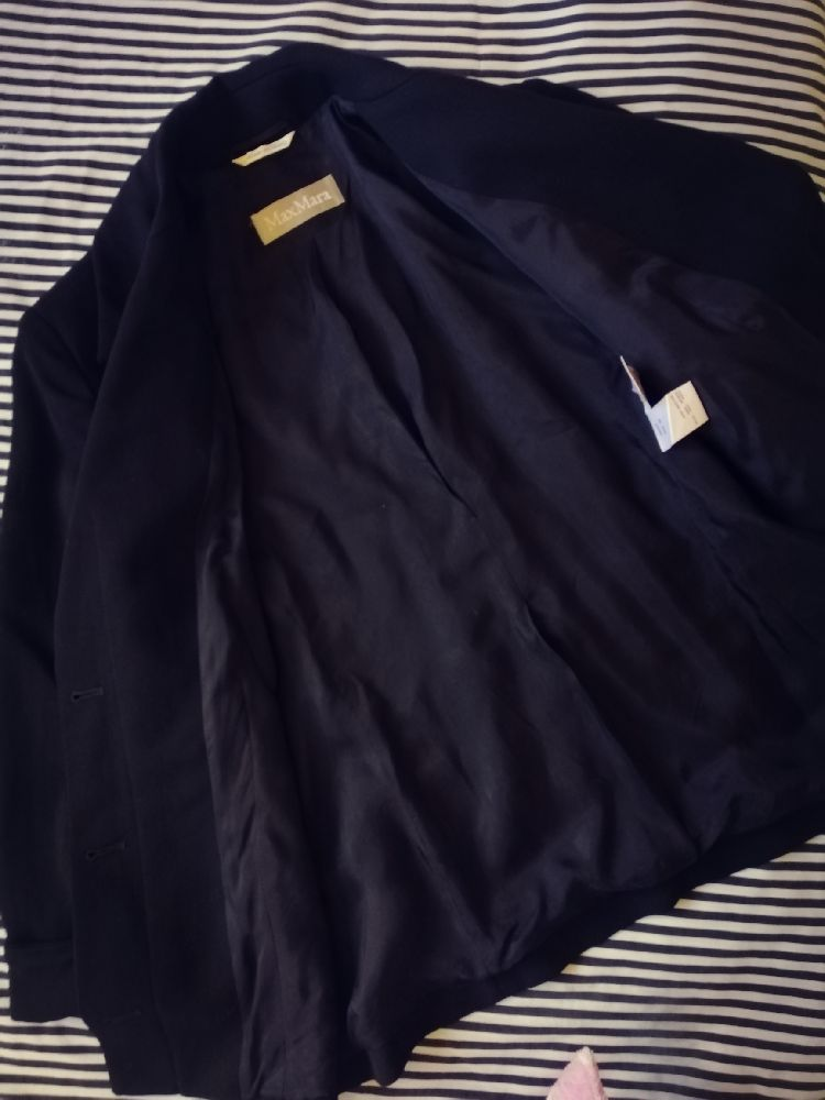 Chic veste noir max Mara