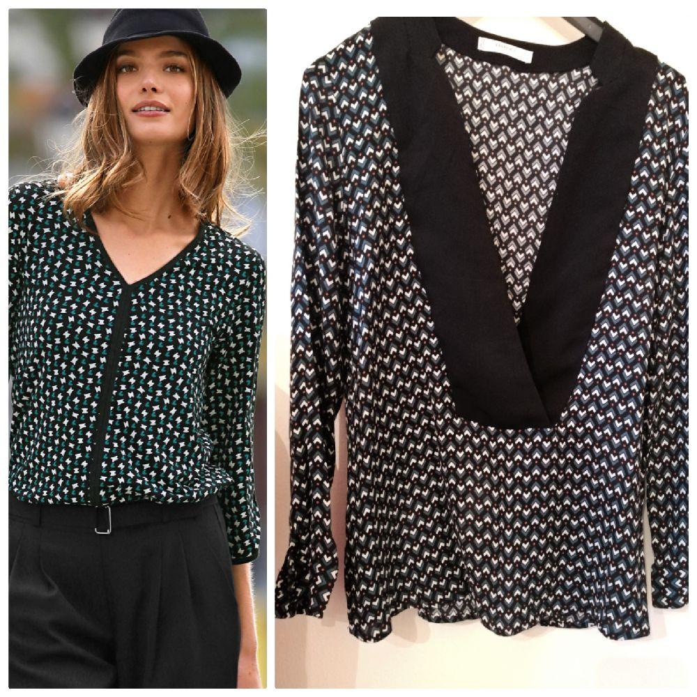Jolie blouse à imprimé mango suits