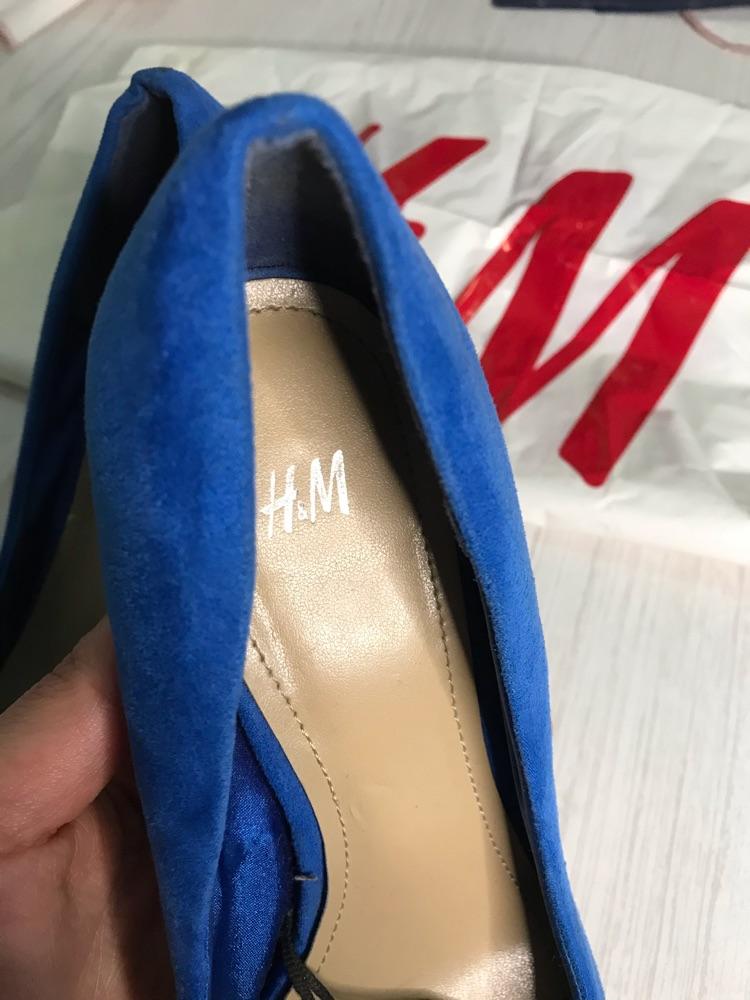 Escarpins h&m bleus