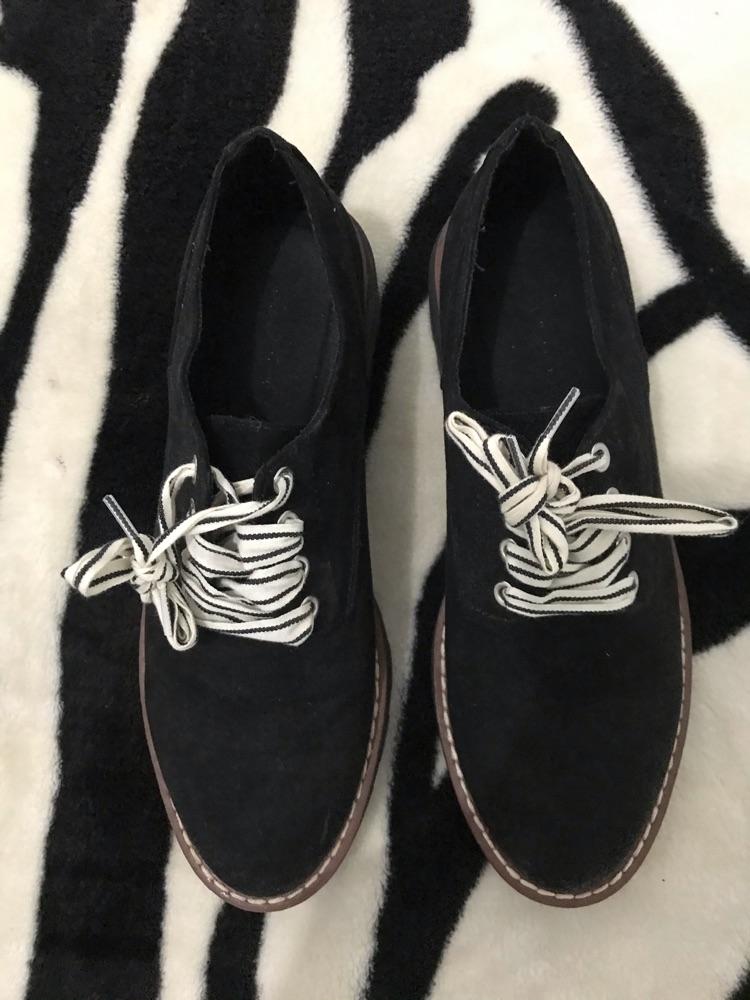 Chaussures noir pull&bear