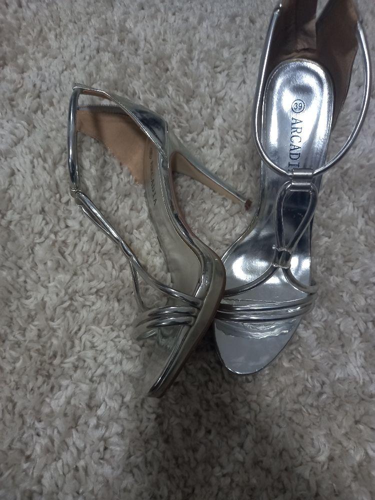 Chaussures argentées