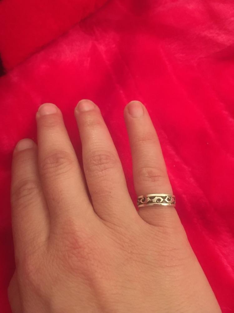 Belle bague doigt/orteil argent 925