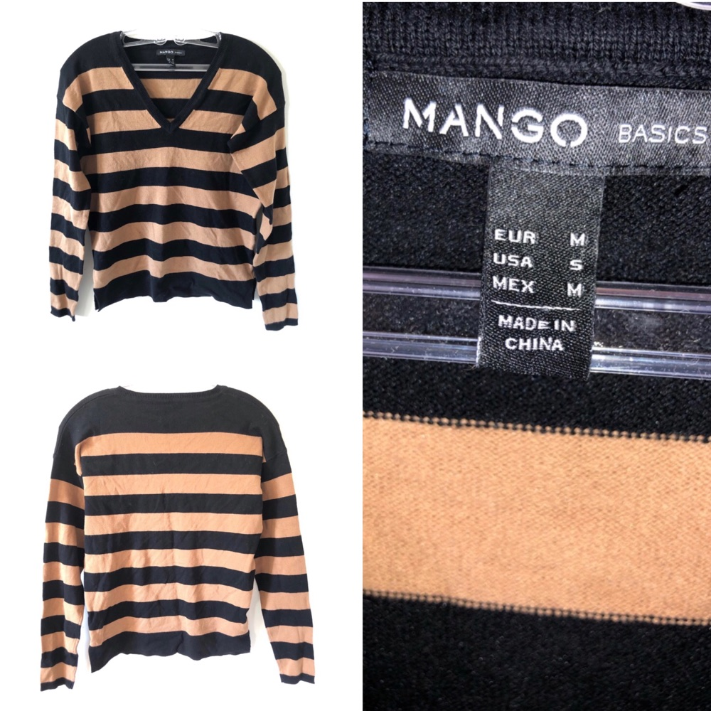 "Deux pull de la marque ""mango"""