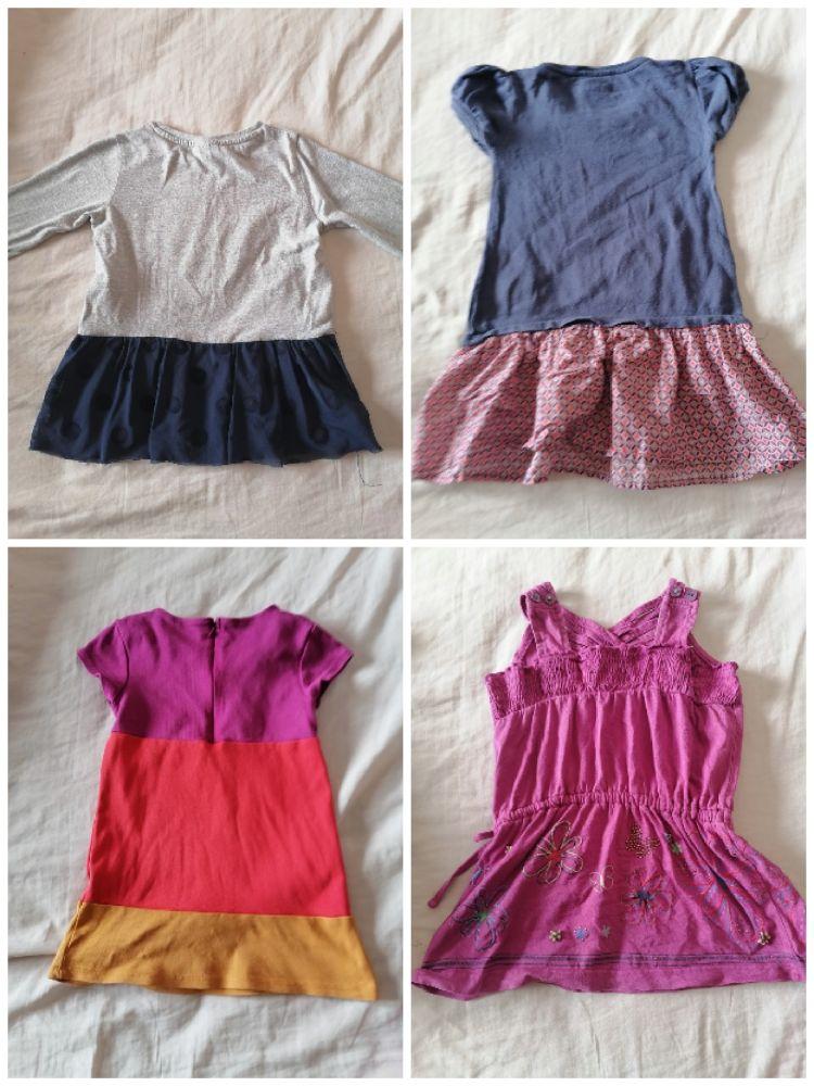 Lot de 4 robe