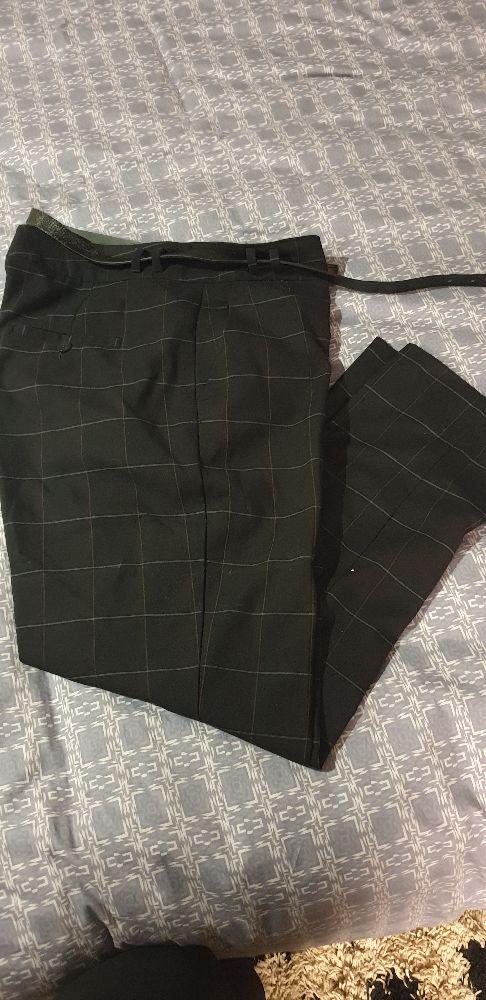 Pantalon à  carreaux très fin