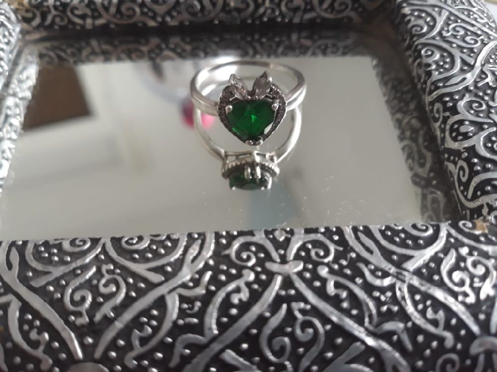 Silver ring 925 Platiné