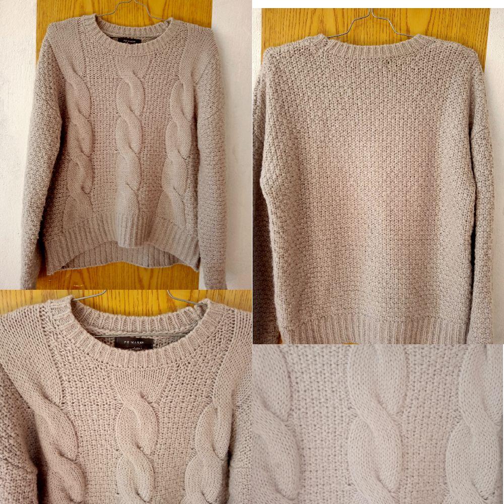 Pull tricot gris taille XL de la marque Primark