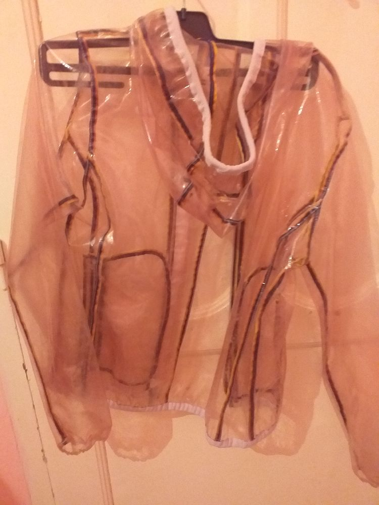 Manteau gilet transparent
