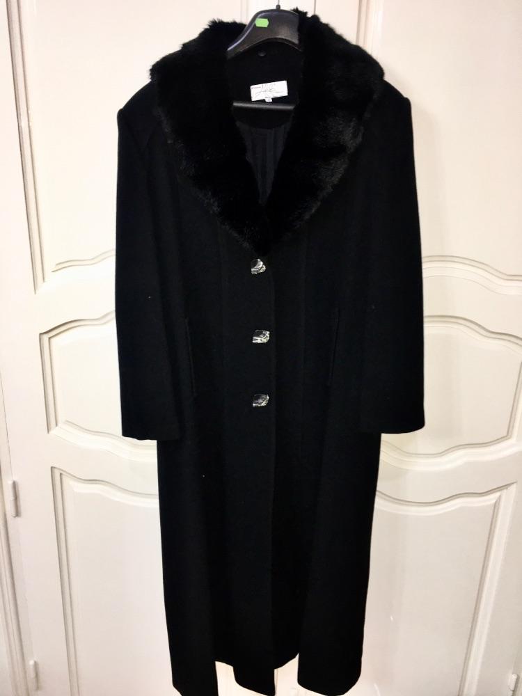 Manteau flanel noir