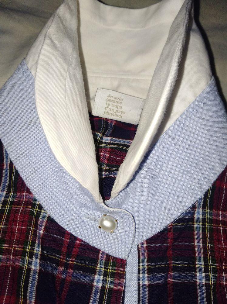Chemise à carreaux très classe