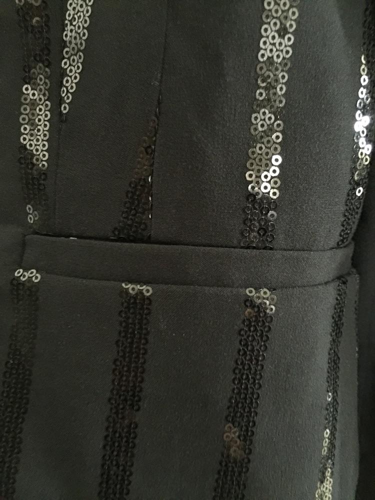 Blazer noir de la marque H&M