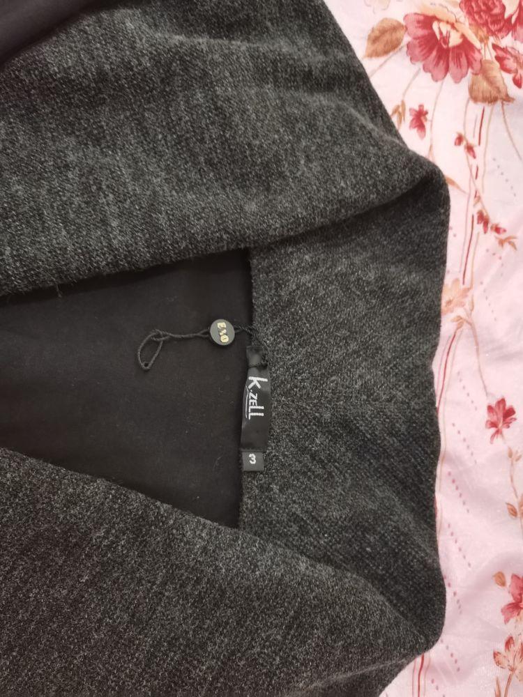 Gilet gris court très chic (taille S/M)