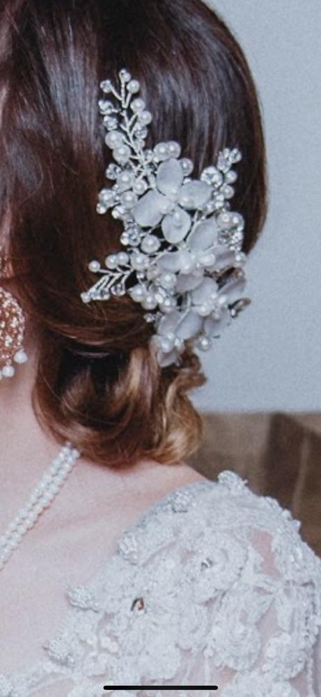 Couronne cheveux mariée