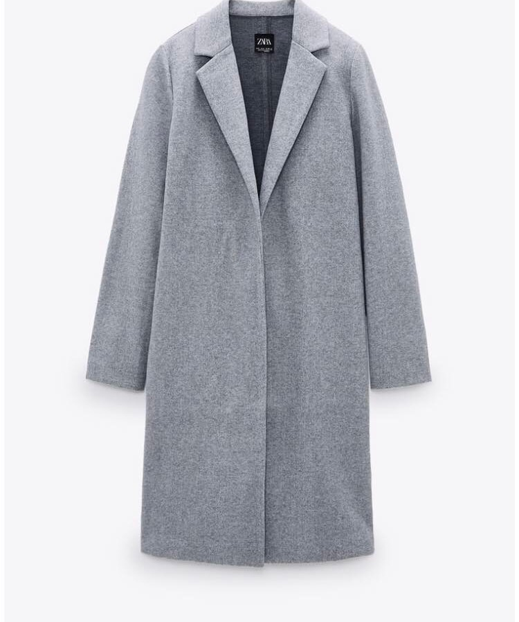 Manteau gris zara