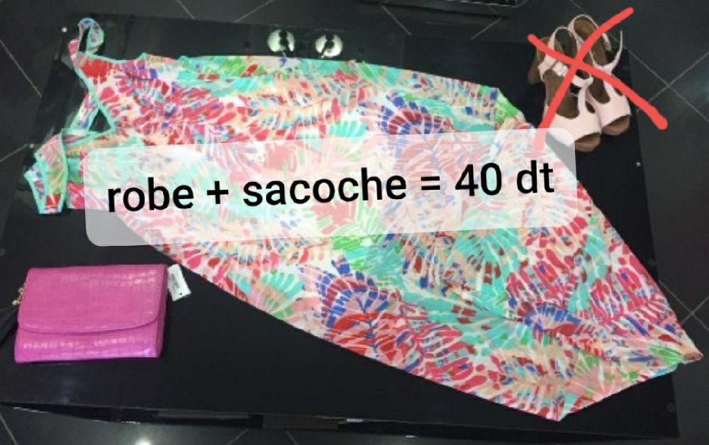 Robe + sac à Bandoulière