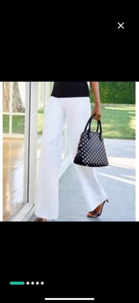 Pantalon large lin de PENNY BLACK trés tendance