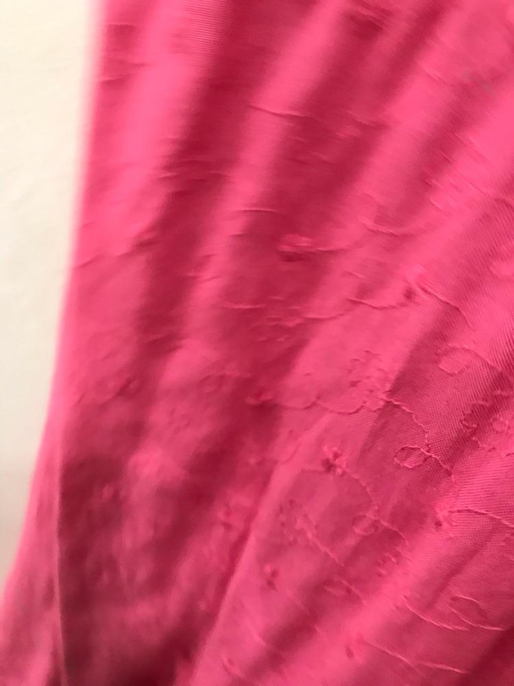 Robe rose importee