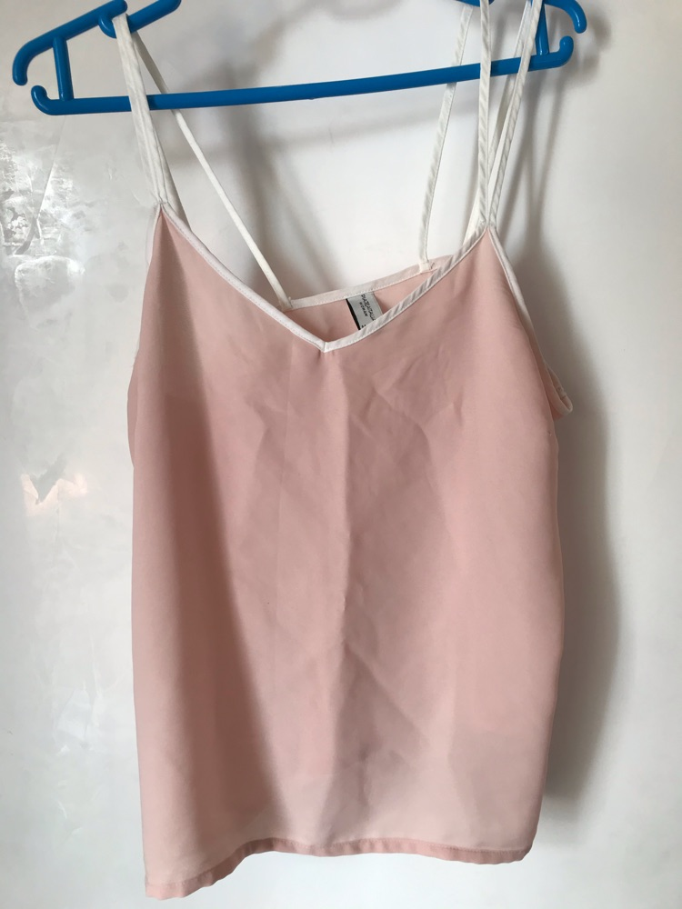 Sleeveless top pink