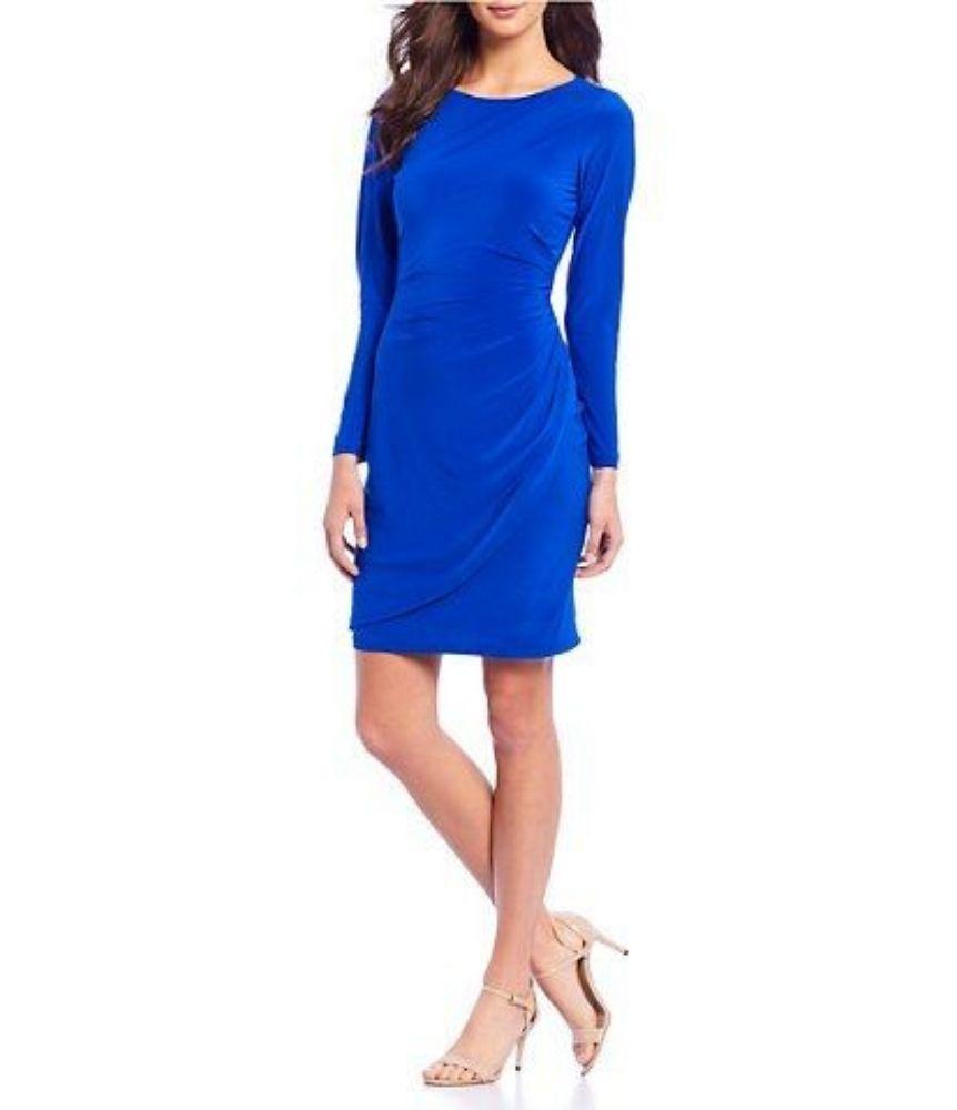 Robe bleu trés chic