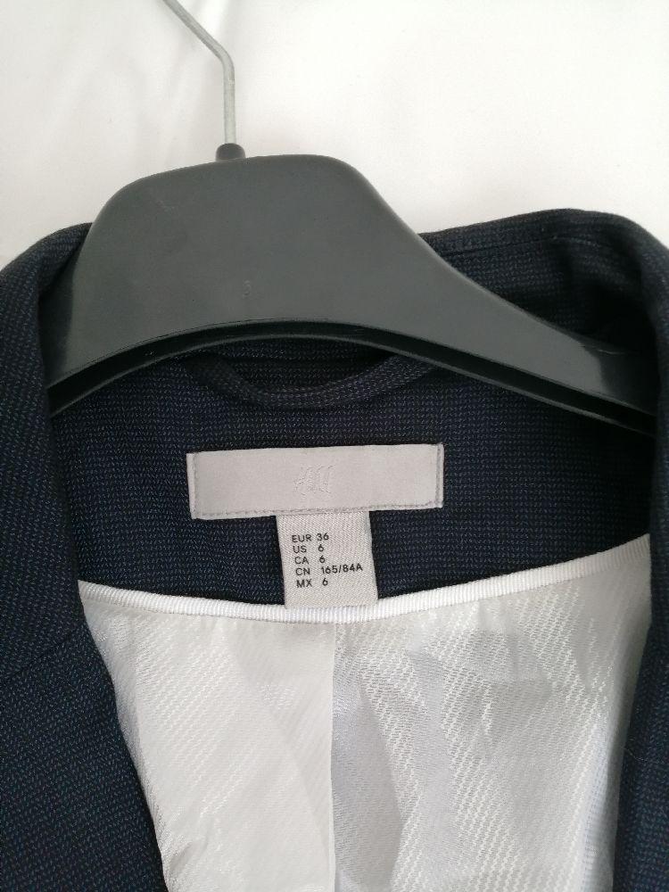 Veste légère H&M couleur bleu marine