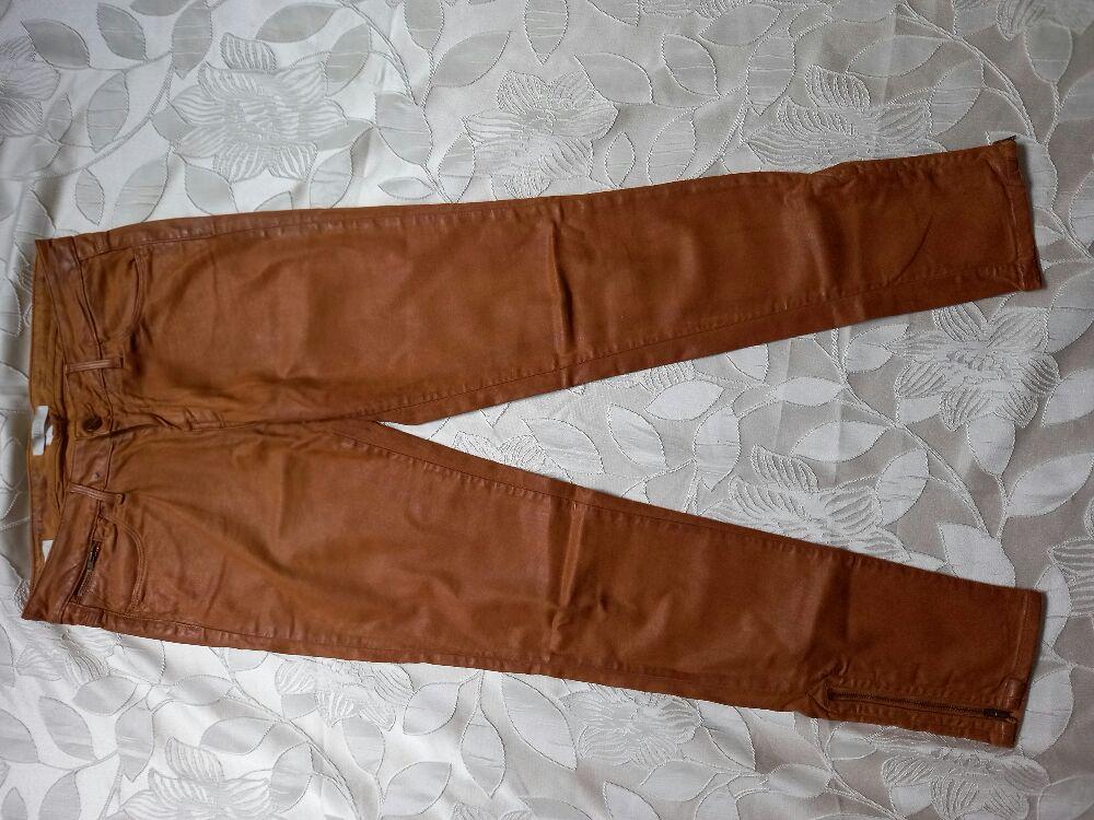 Pantalon effet cuir