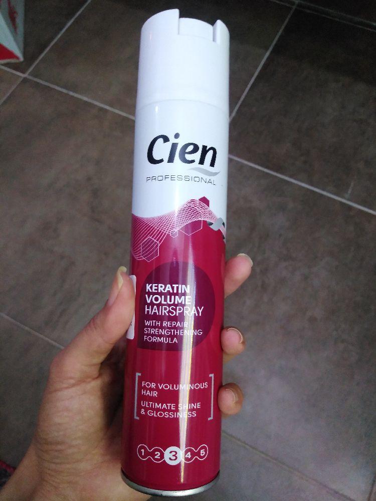 Keratin volume hair spray importé