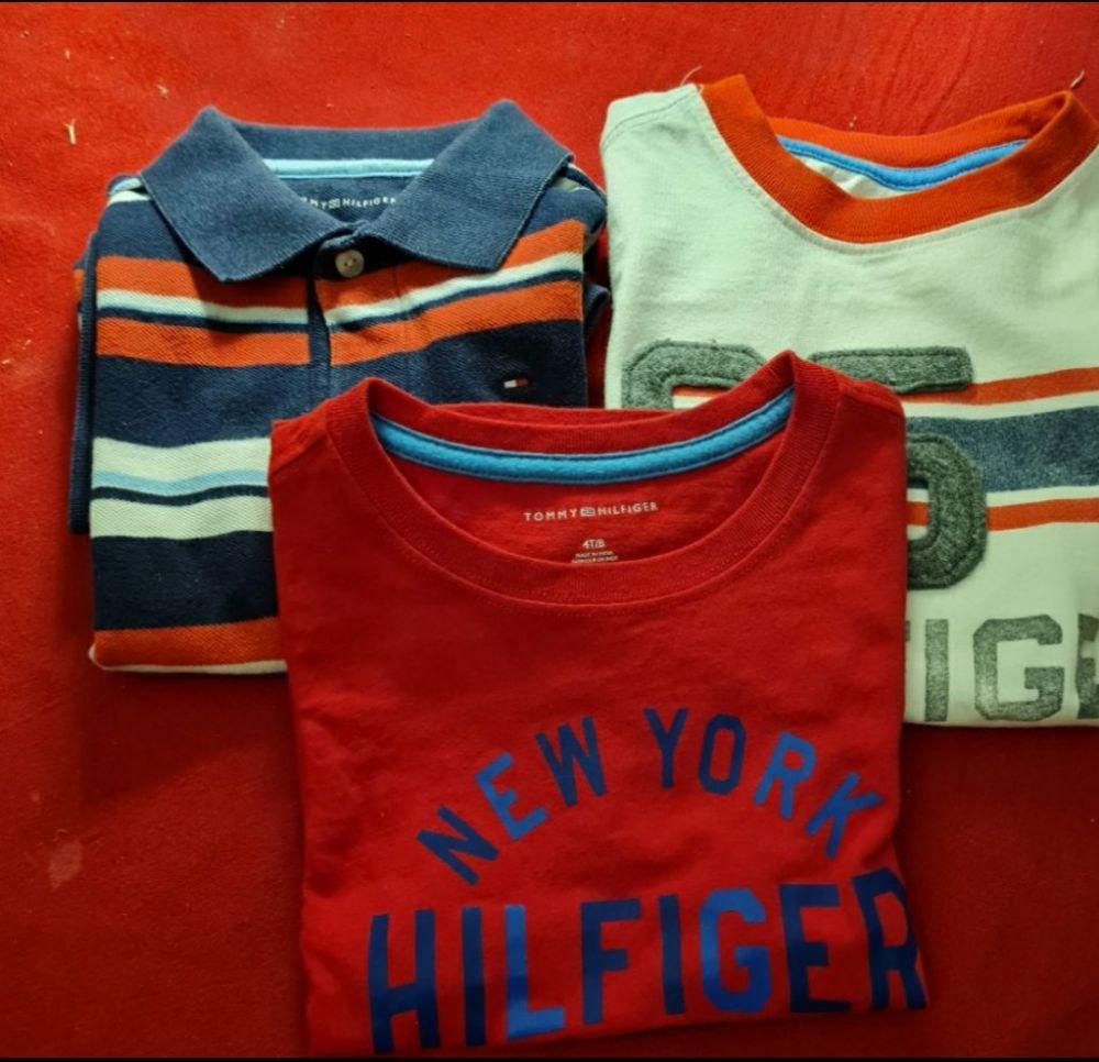 Lot tee-shirt Tommy Hilfiger enfant