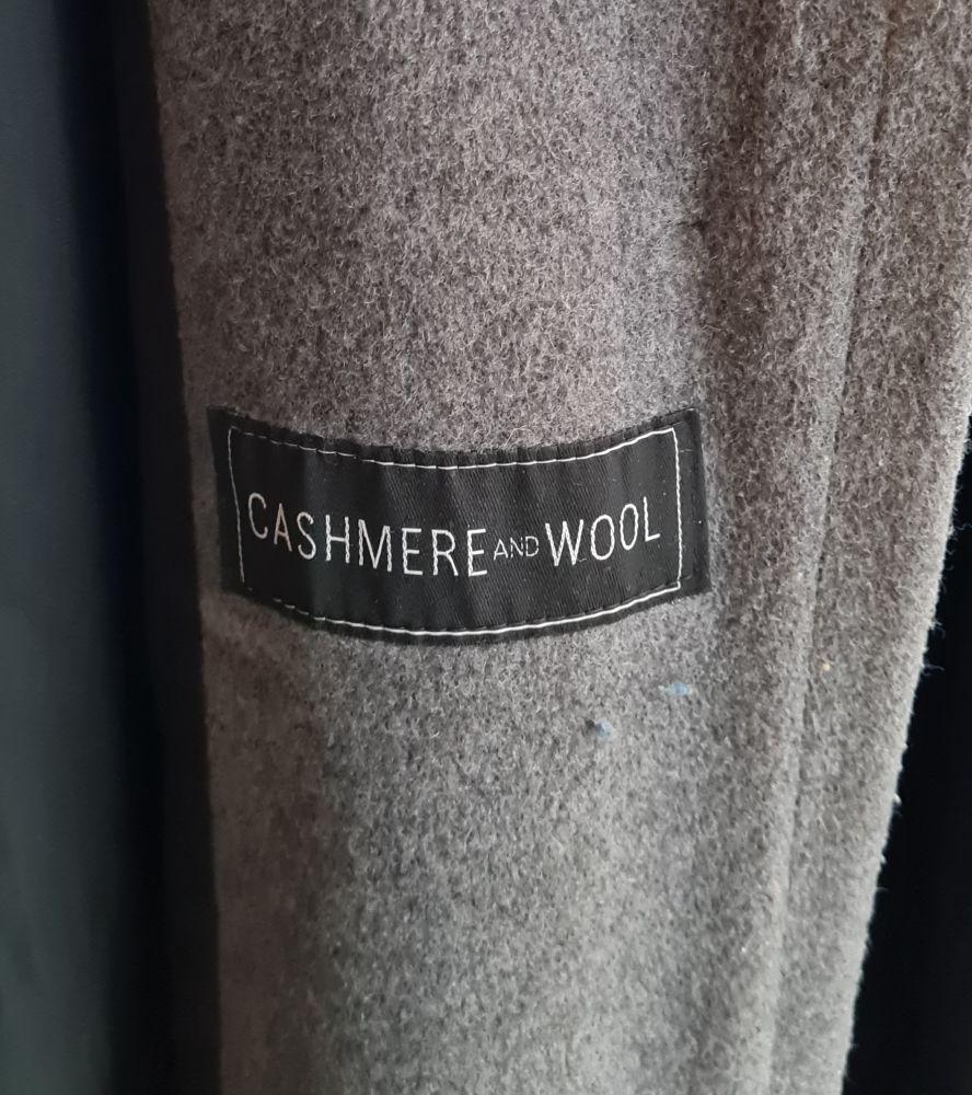 Soldé  manteau laine cashmere