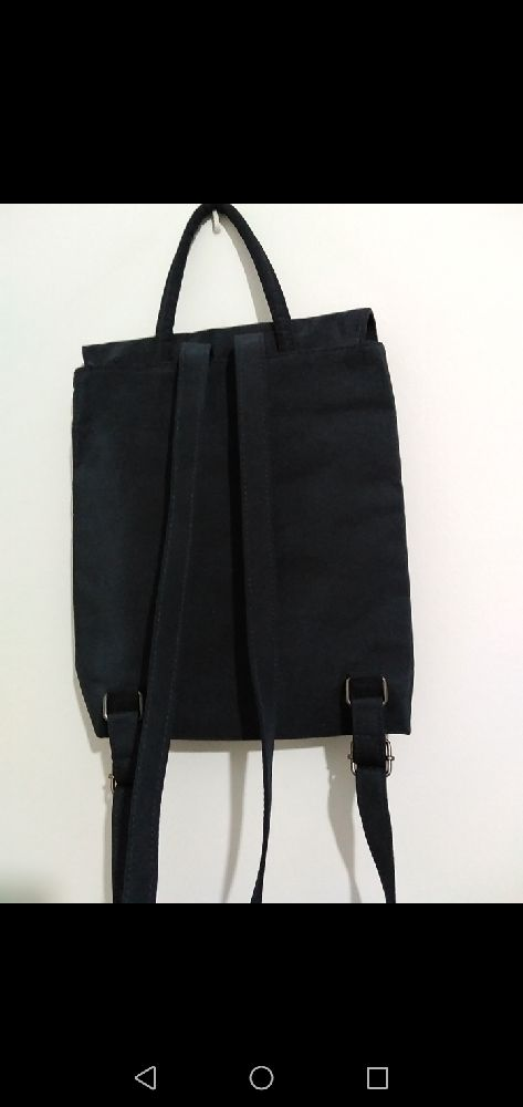 Petit sac a dos en bleu foncé