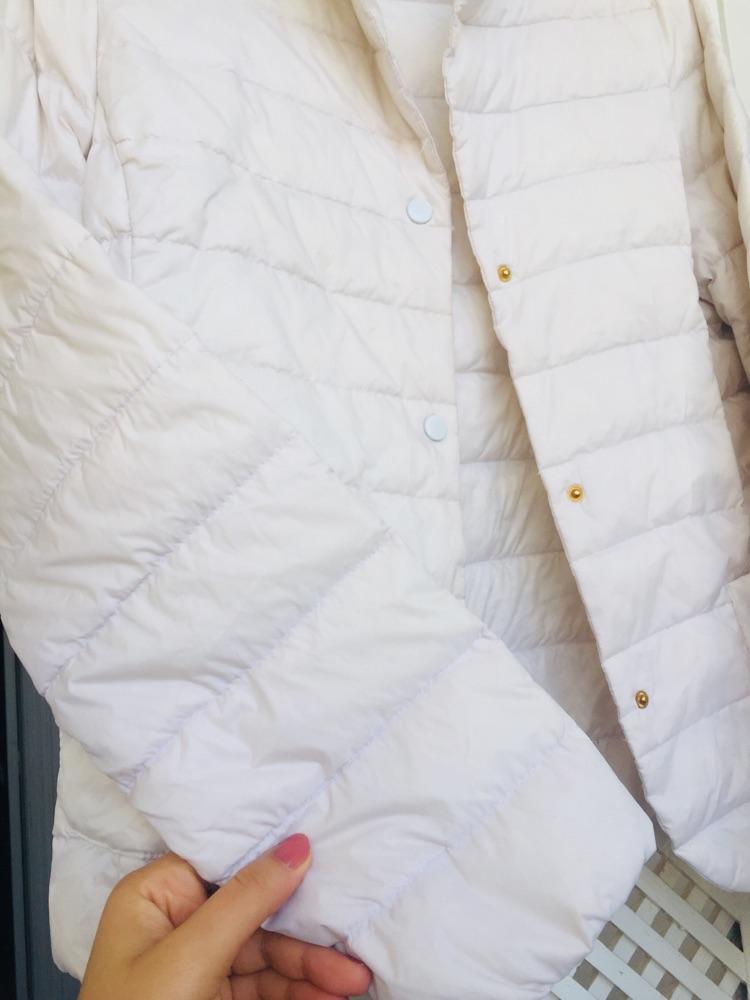 Doudoune blanche